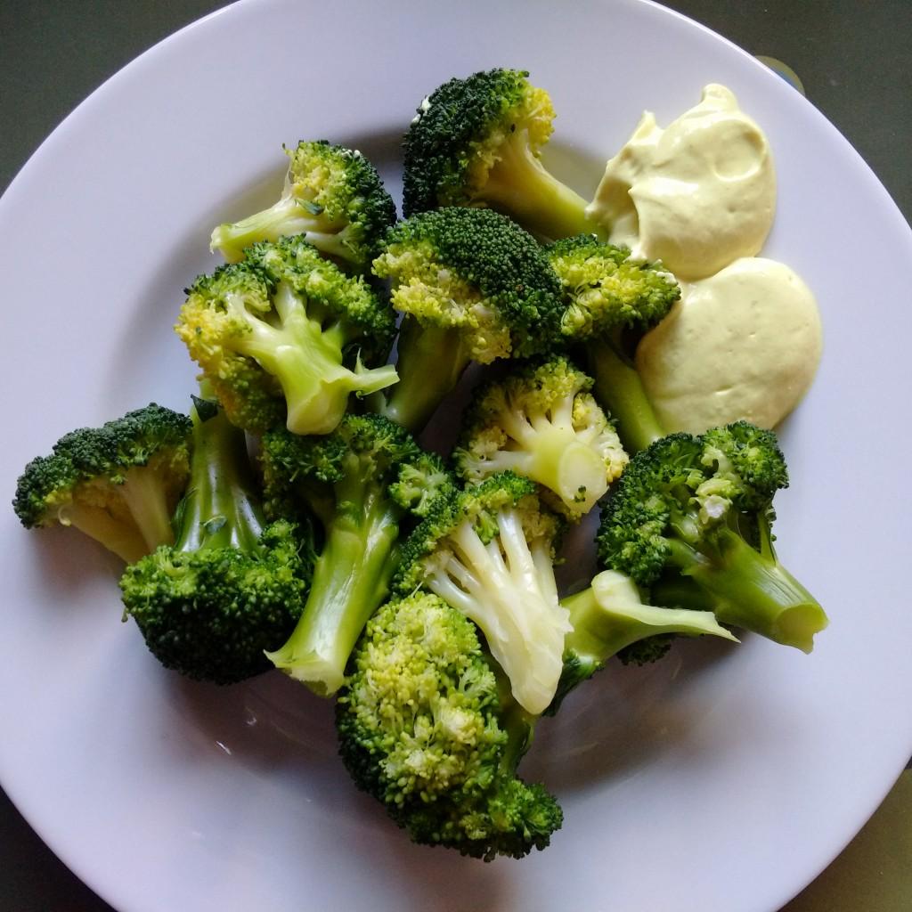 broccoletti e maio veg