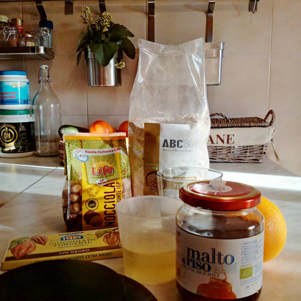 ingredienti torta nocciole