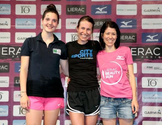 Il podio femminile_ph. credits ANSA