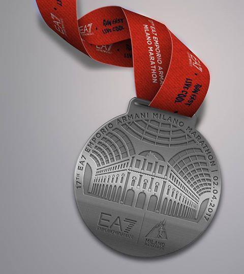 milano marathon medaglia maratona