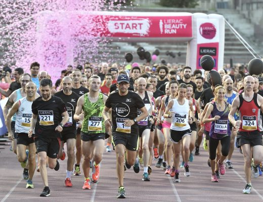 Lierac beauty run partenza