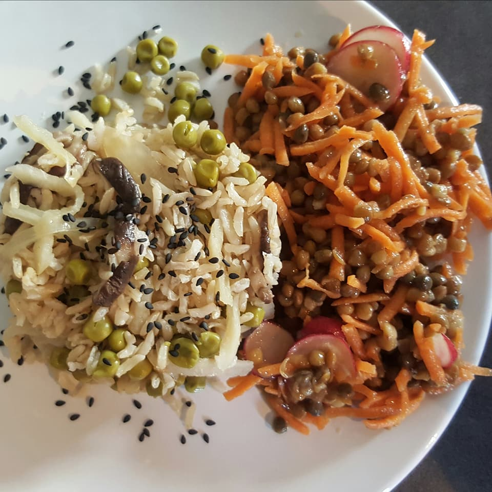 dimagrire riso basmati e lenticchie