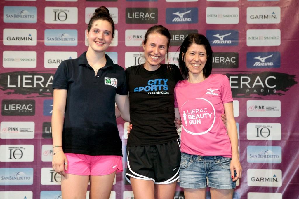 lierac beauty run podio